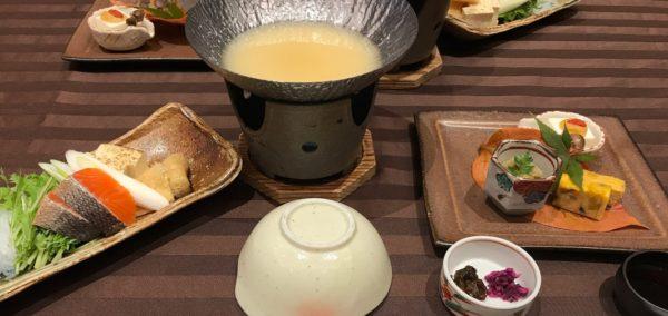 合宿時の料理の画像